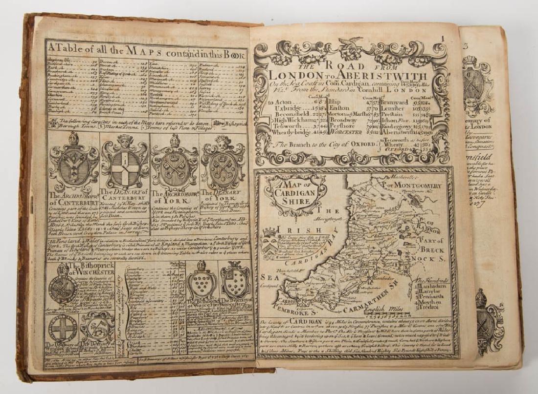 BRITISH HISTORICAL TRAVEL ATLAS / GUIDEBOOK VOLUME