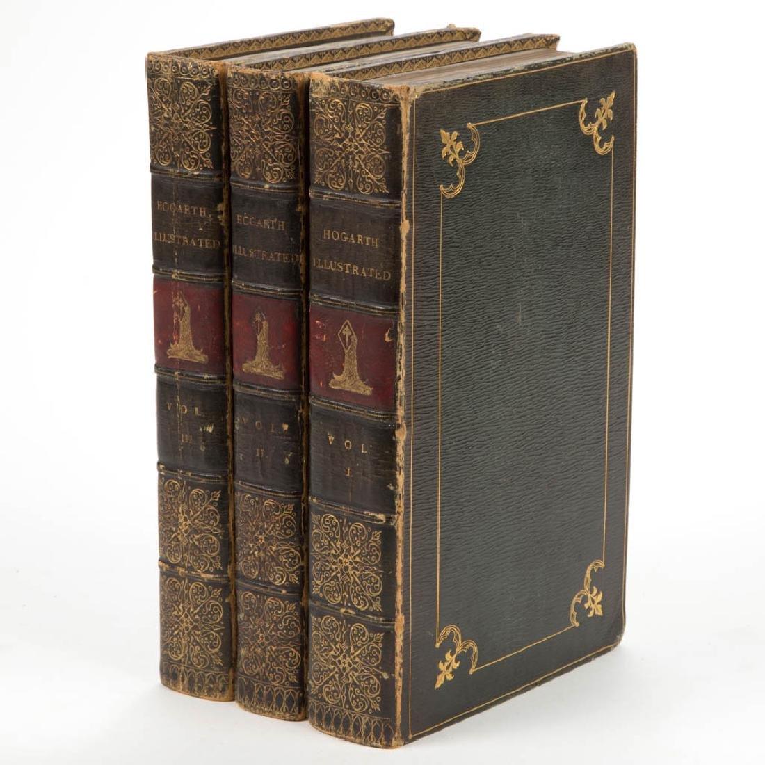 BRITISH HISTORICAL ARTS VOLUMES, SET OF THREE