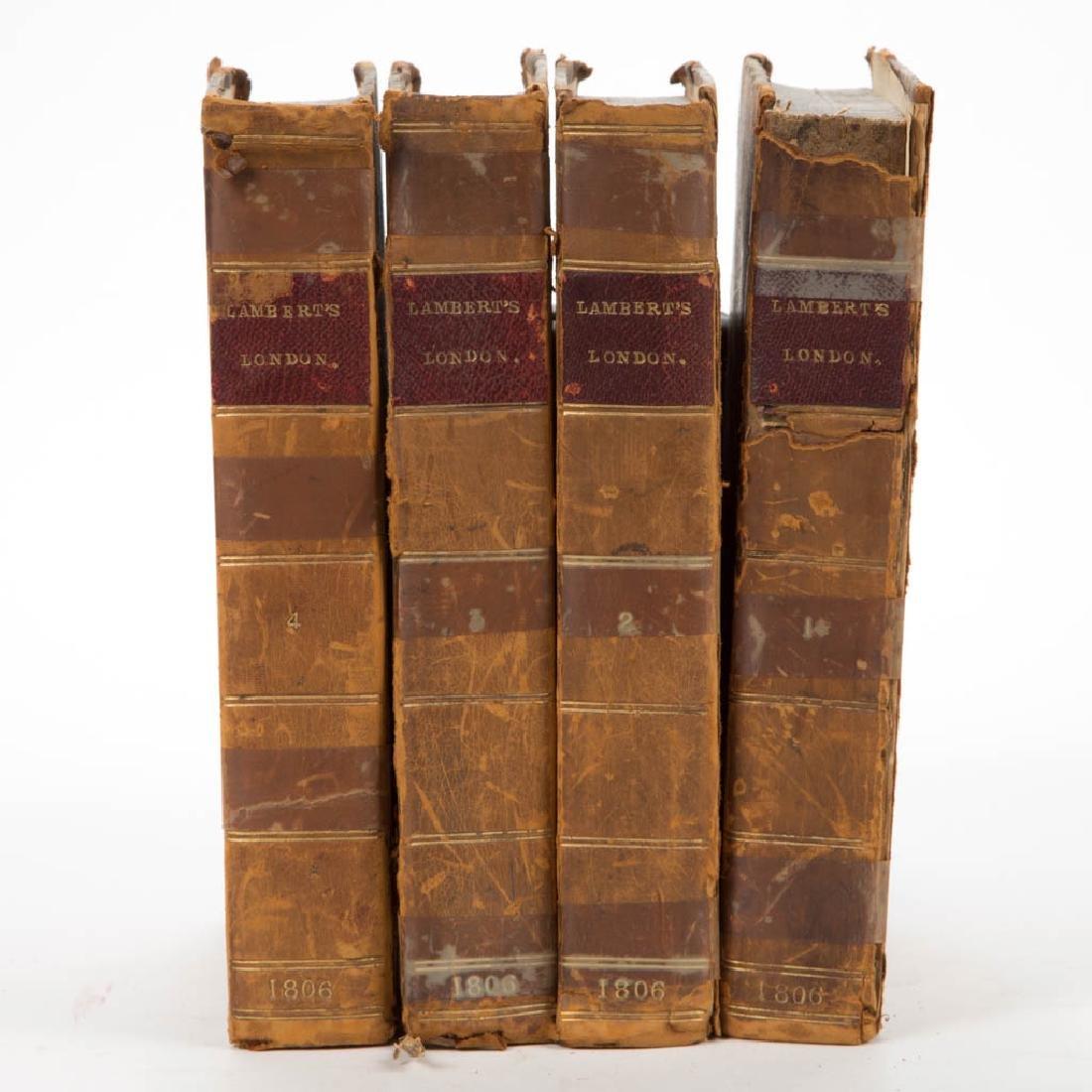 BRITISH HISTORICAL LONDON SURVEY / TRAVEL VOLUMES, SET