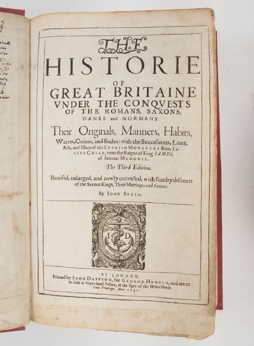 BRITISH HISTORICAL HISTORY VOLUME