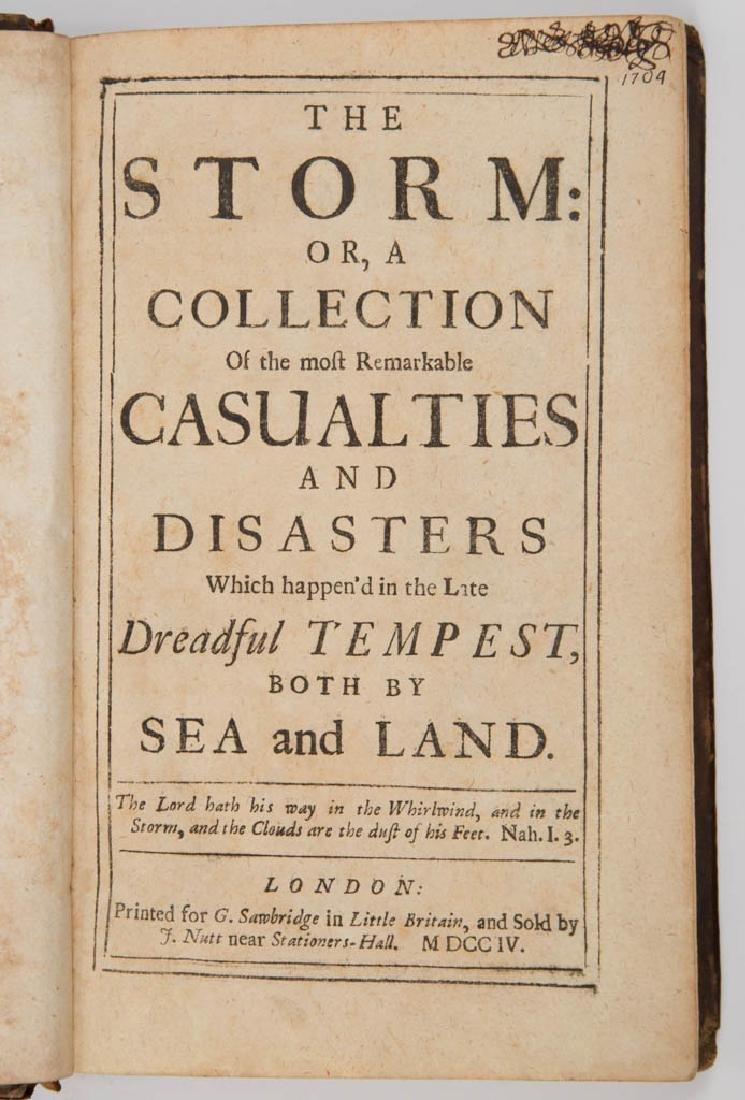 BRITISH HISTORICAL METEOROLOGY / JOURNALISM VOLUME - 2
