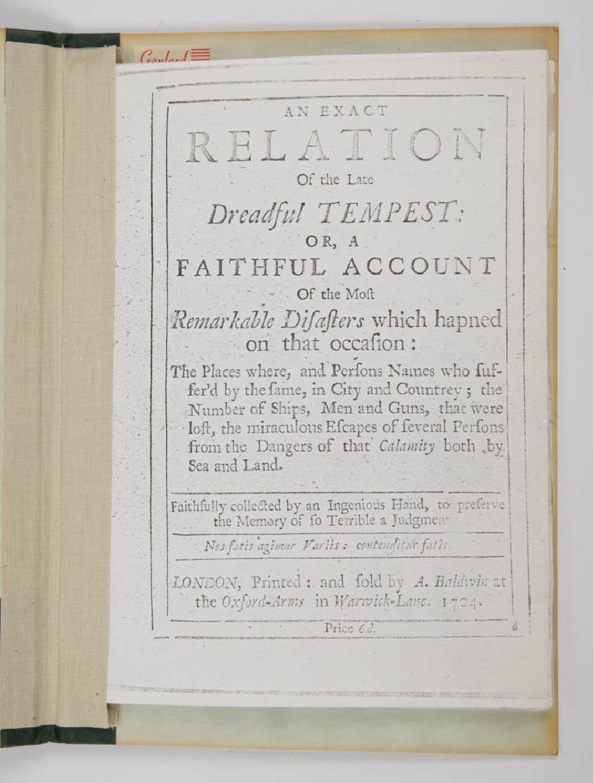 BRITISH HISTORICAL METEOROLOGY / JOURNALISM VOLUME - 3