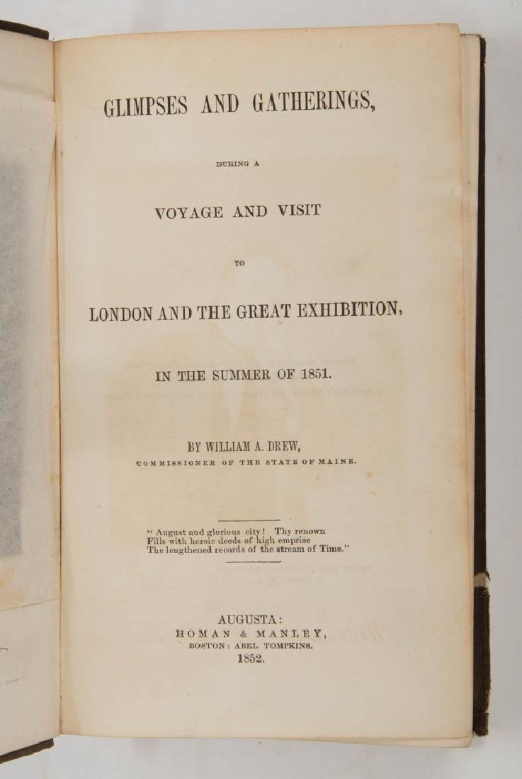 BRITISH HISTORICAL LONDON GREAT EXHIBITION VOLUMES, LOT - 2
