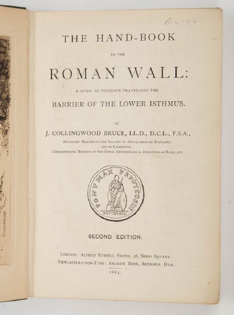 BRITISH HISTORICAL / ROMAN BRITAIN HISTORY VOLUMES, LOT - 2