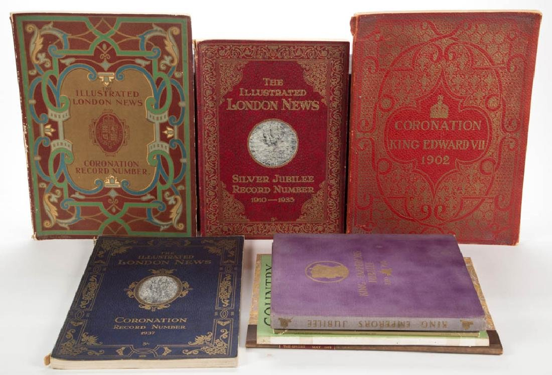 BRITISH HISTORICAL MONARCHY AND RELATED VOLUMES, LOT OF