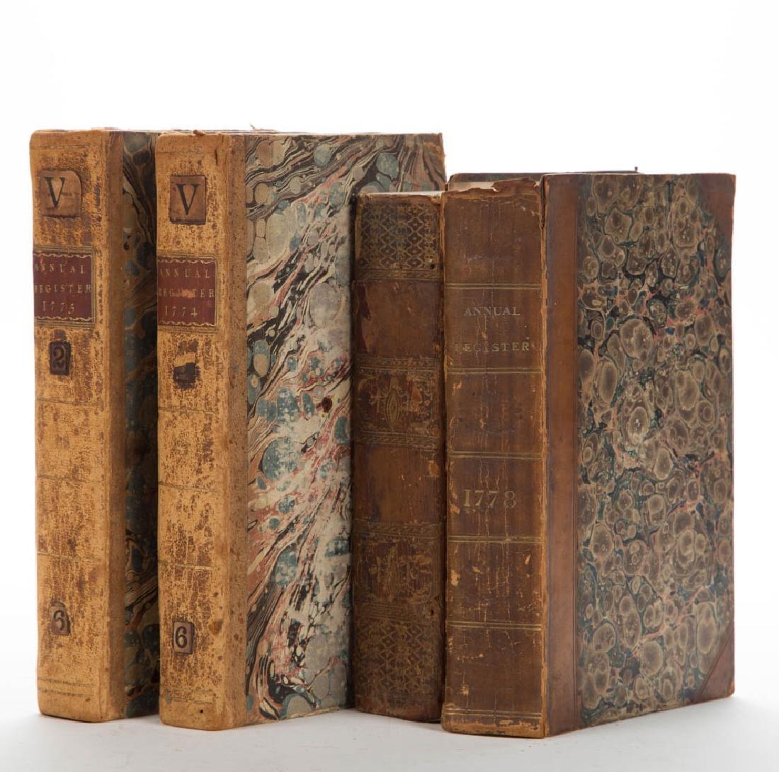 BRITISH HISTORICAL PERIODICAL / ANNUAL REGISTER VOLUMES