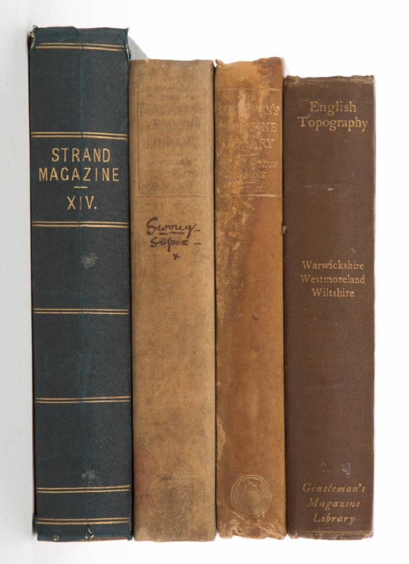 BRITISH HISTORICAL PERIODICAL VOLUMES, LOT OF FOUR