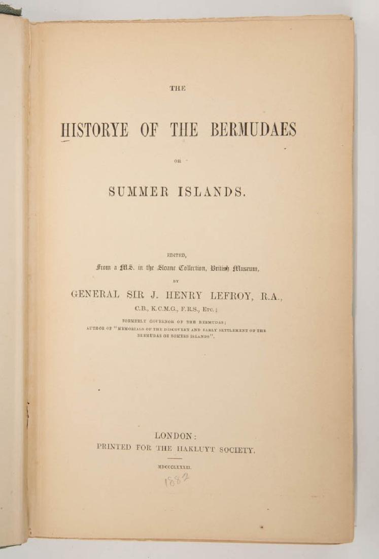 BRITISH / BERMUDA HISTORY VOLUME