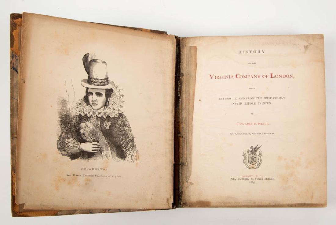 AMERICAN HISTORICAL VIRGINIA COLONIAL VOLUME