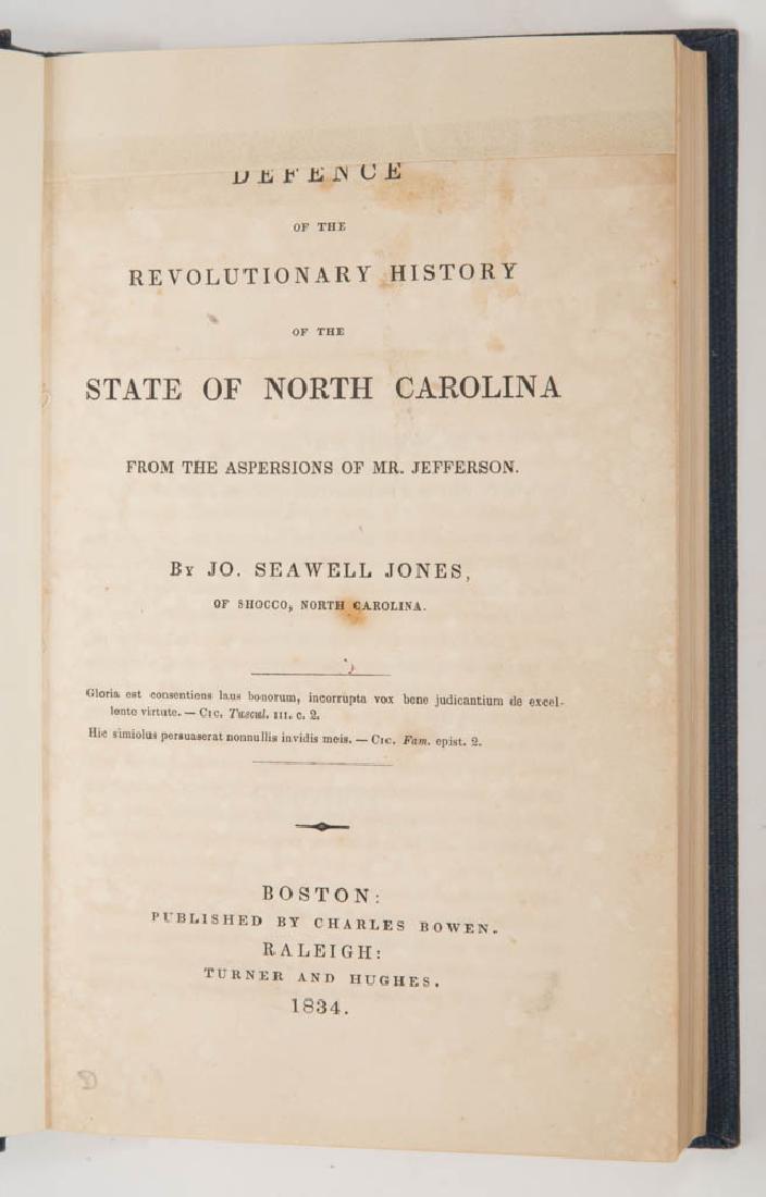 AMERICAN HISTORICAL NORTH CAROLINA REFERENCE VOLUME