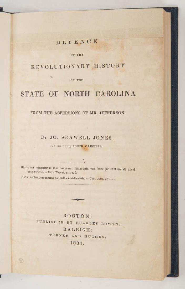 AMERICAN HISTORICAL NORTH CAROLINA REFERENCE VOLUME