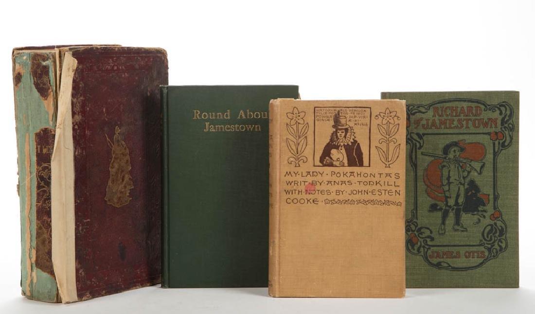 AMERICAN HISTORICAL VIRGINIA HISTORY VOLUMES, LOT OF