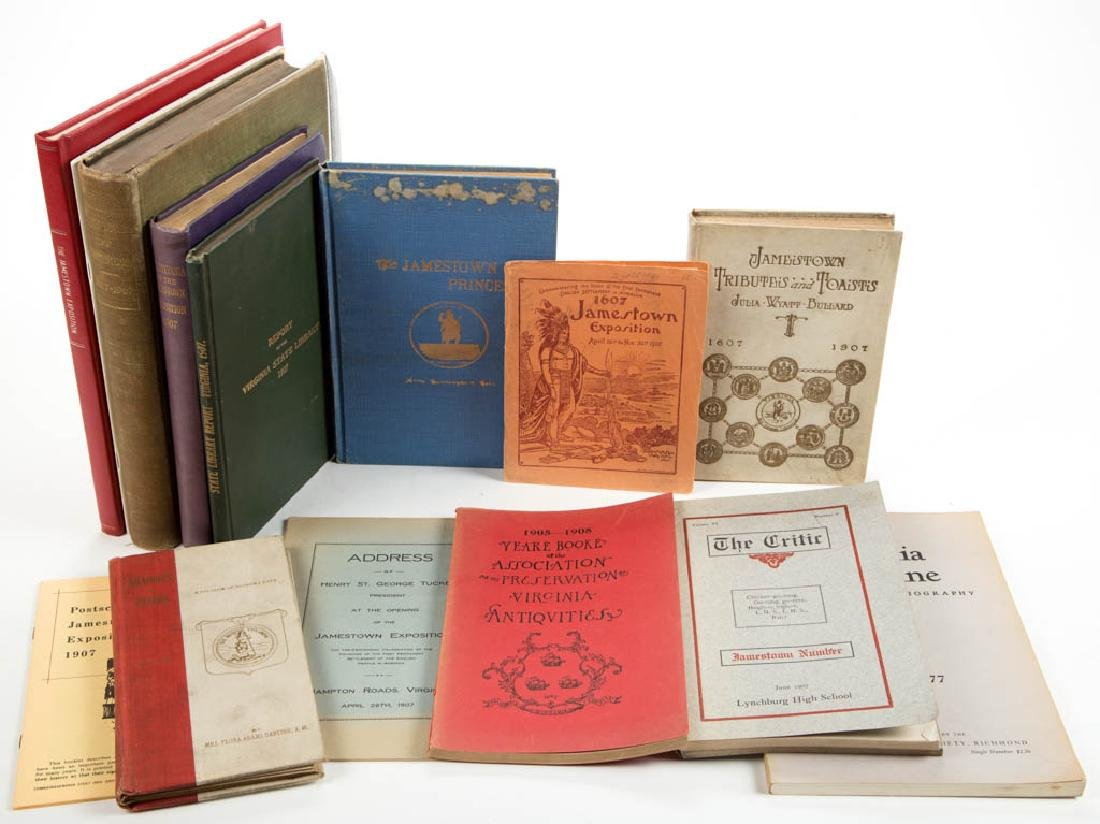 JAMESTOWN EXPOSITION AND RELATED VOLUMES / RESEARCH