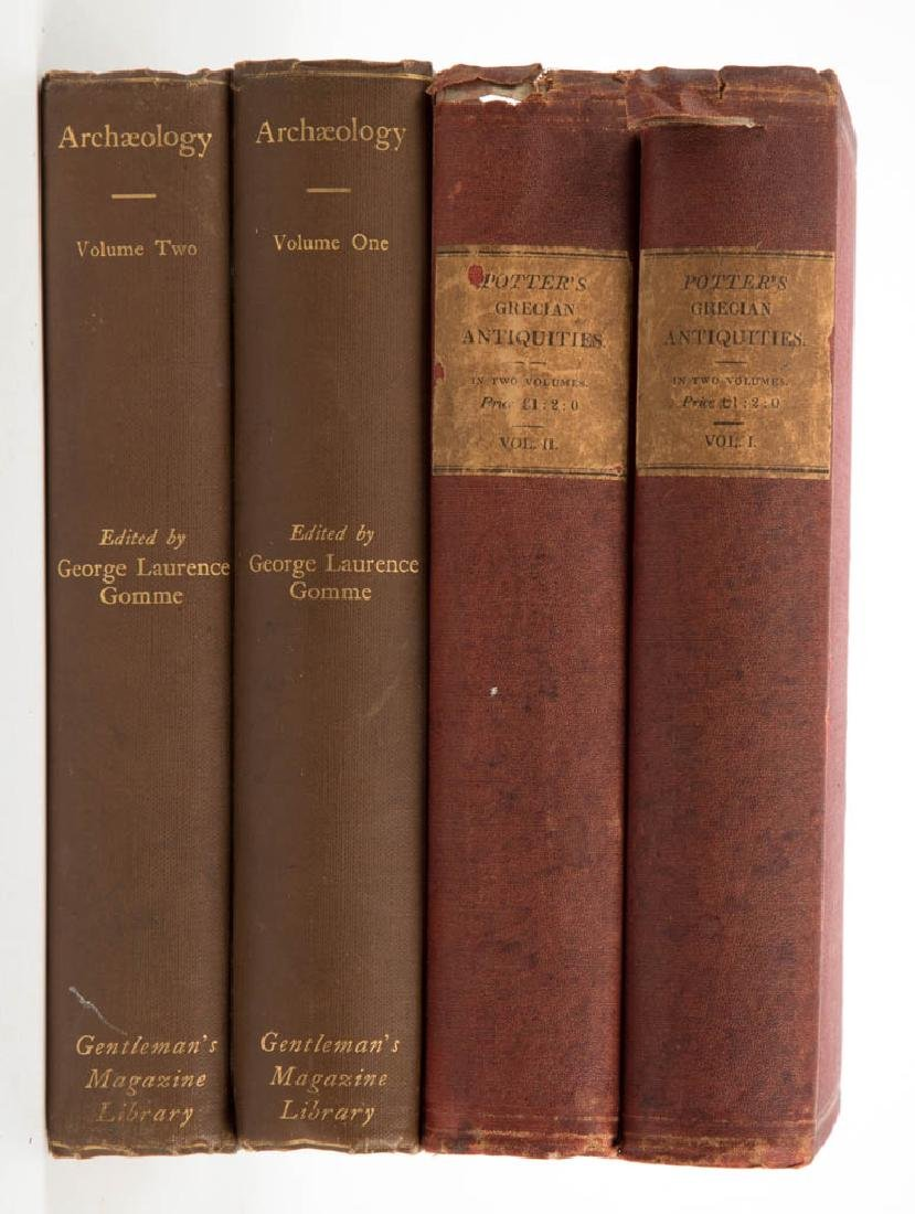 ANTIQUITIES / ARCHAEOLOGY HISTORICAL VOLUMES, LOT OF