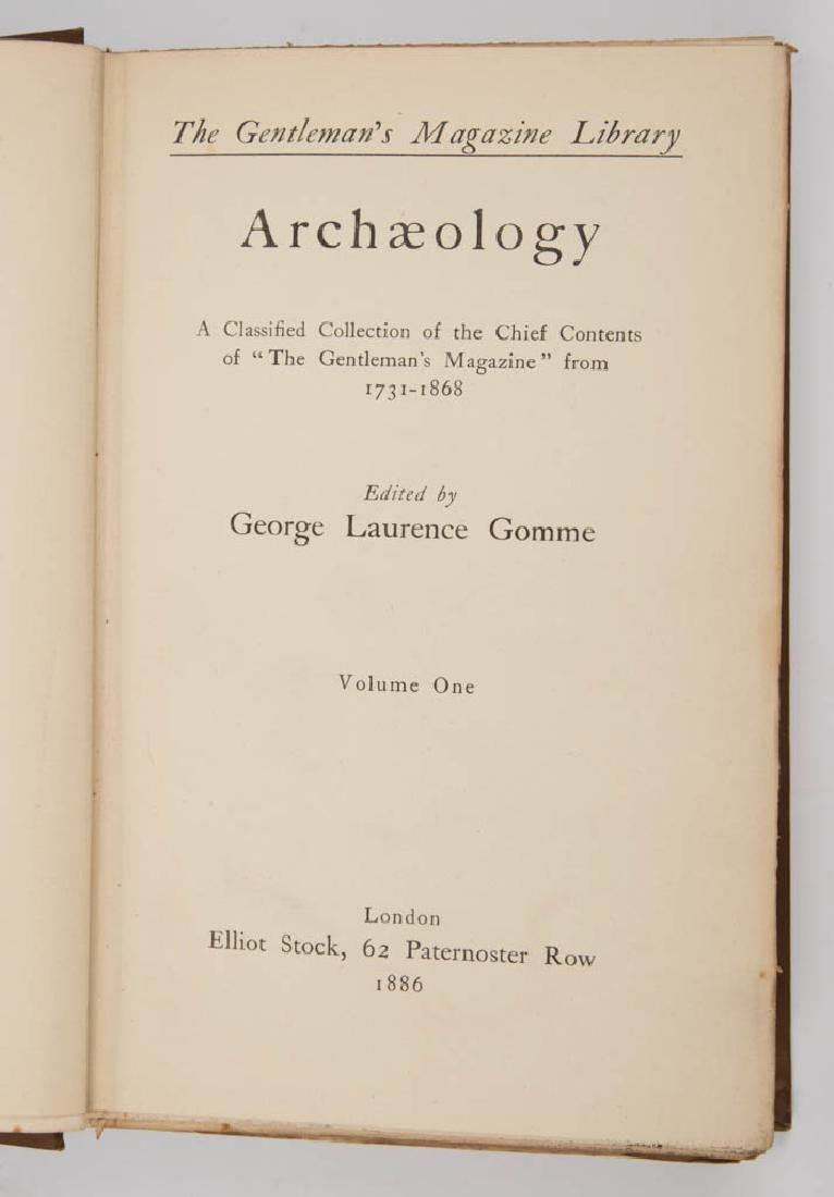 ANTIQUITIES / ARCHAEOLOGY HISTORICAL VOLUMES, LOT OF - 4
