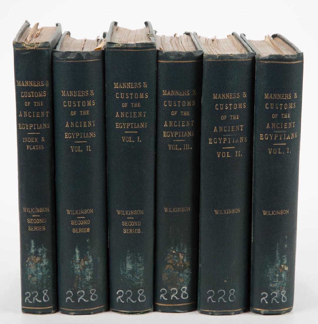 EGYPTIAN HISTORICAL / EGYPTOLOGY VOLUMES, SET OF SIX