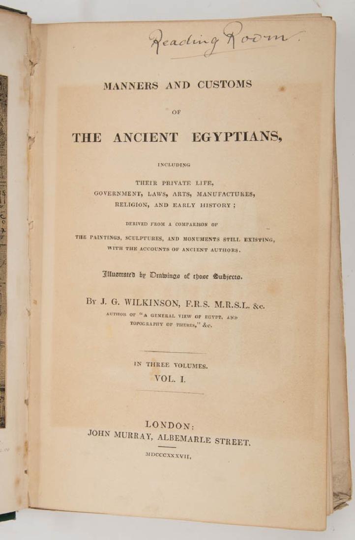 EGYPTIAN HISTORICAL / EGYPTOLOGY VOLUMES, SET OF SIX - 2