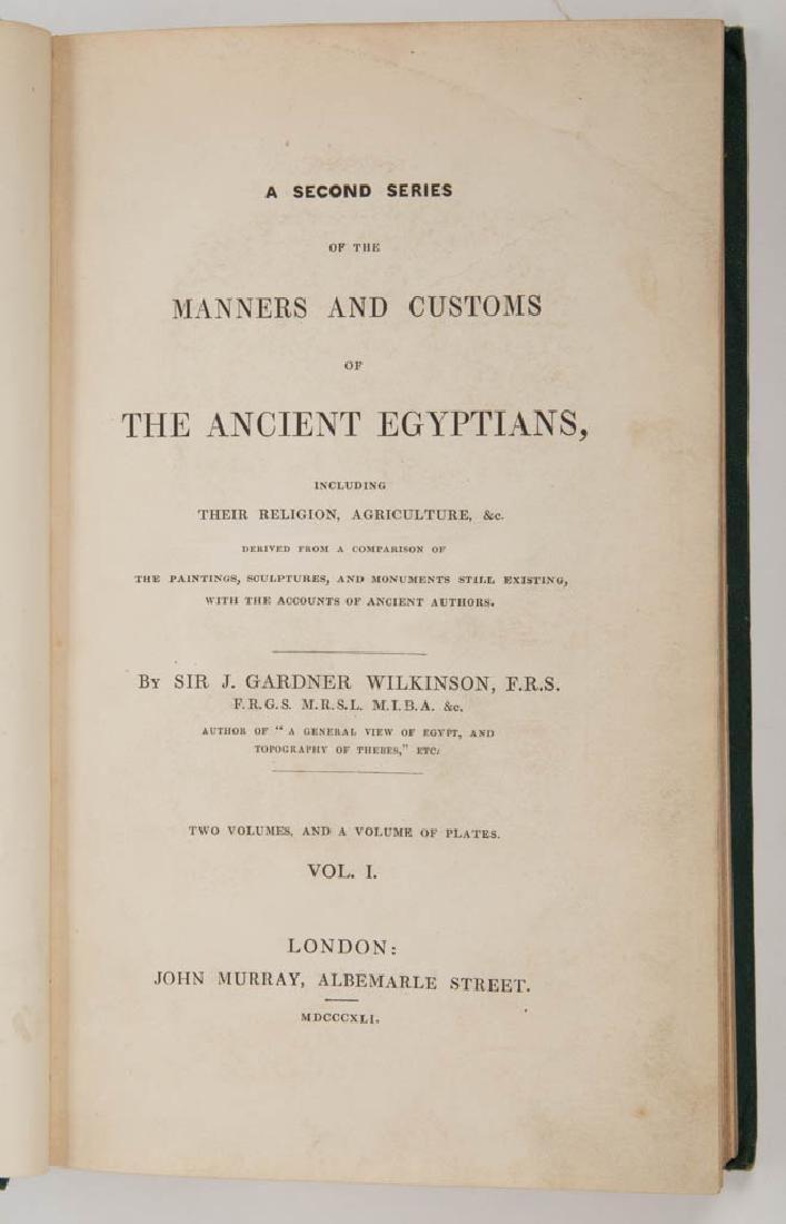 EGYPTIAN HISTORICAL / EGYPTOLOGY VOLUMES, SET OF SIX - 3