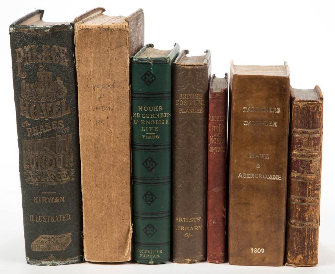 BRITISH CULTURE AND RELATED VOLUMES, LOT OF SEVEN