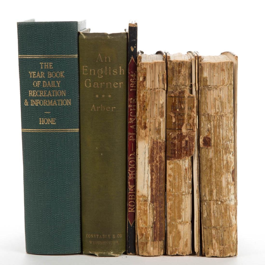 BRITISH ARTS / LITERATURE AND RELATED VOLUMES, LOT OF