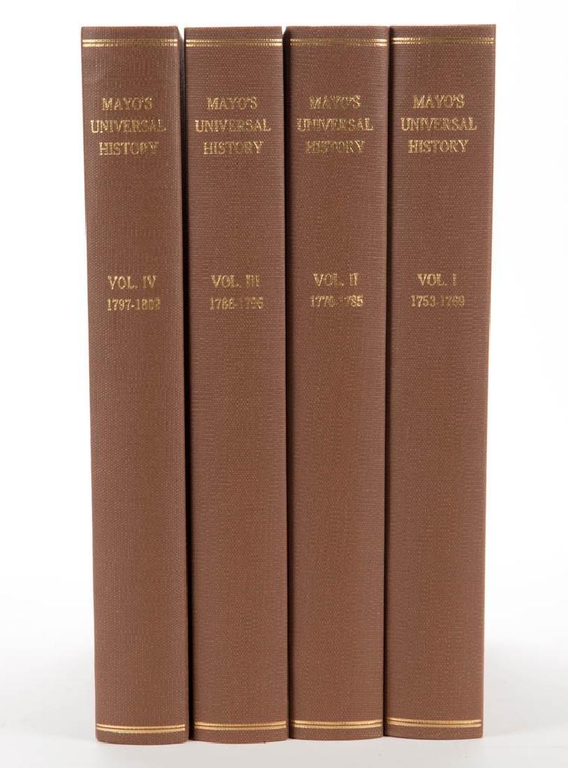 EUROPEAN HISTORICAL HISTORY VOLUMES, SET OF FOUR