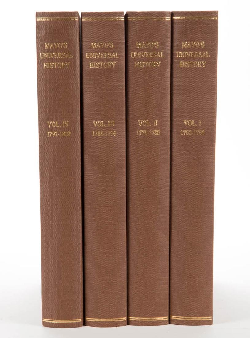 EUROPEAN HISTORICAL HISTORY VOLUMES, SET OF FOUR