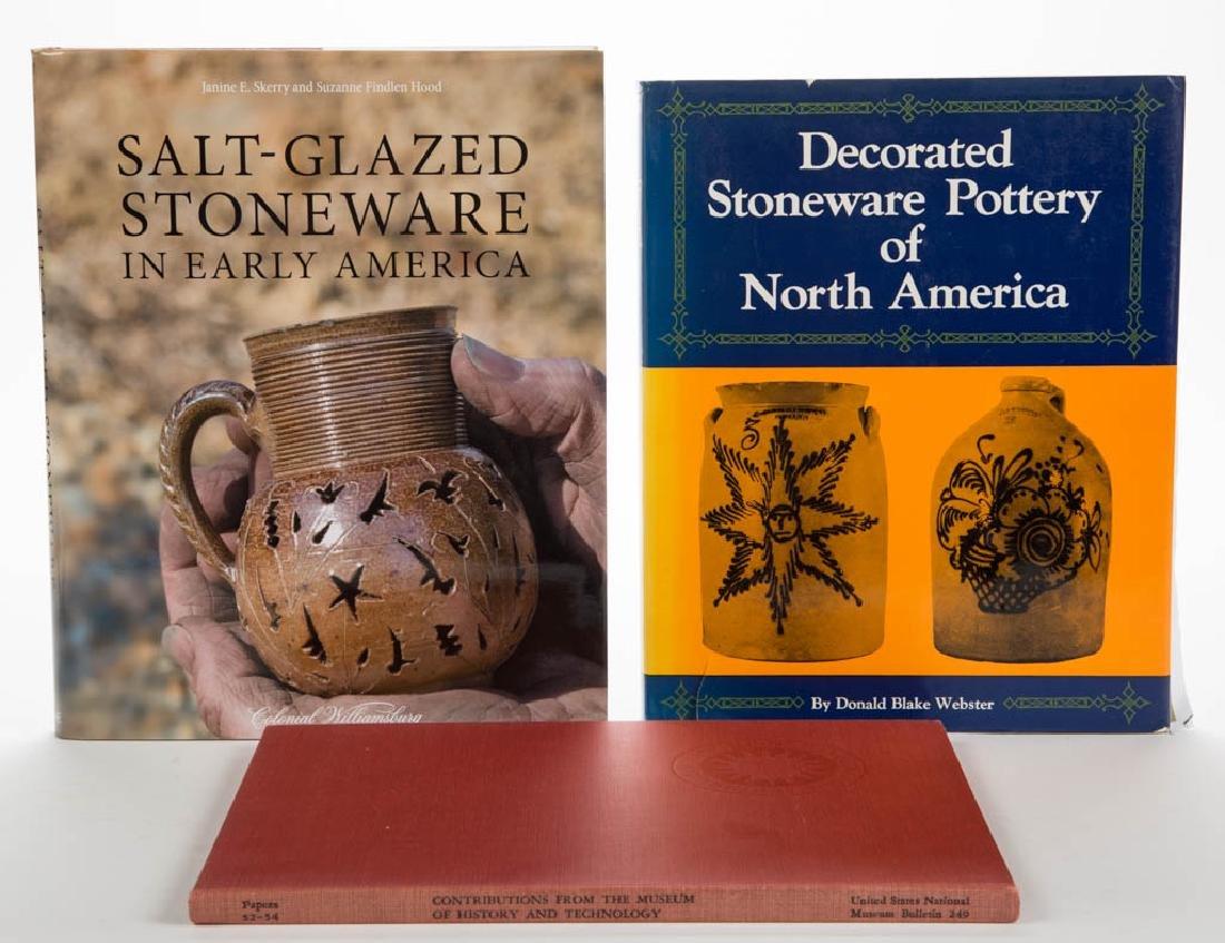 AMERICAN CERAMIC VOLUMES, LOT OF THREE