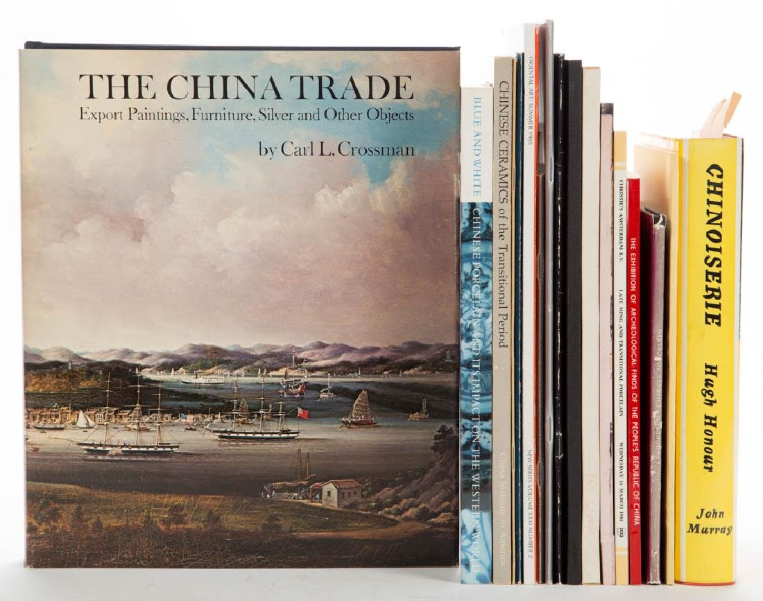 CHINESE CERAMICS / TRADE VOLUMES / RESEARCH MATERIALS,