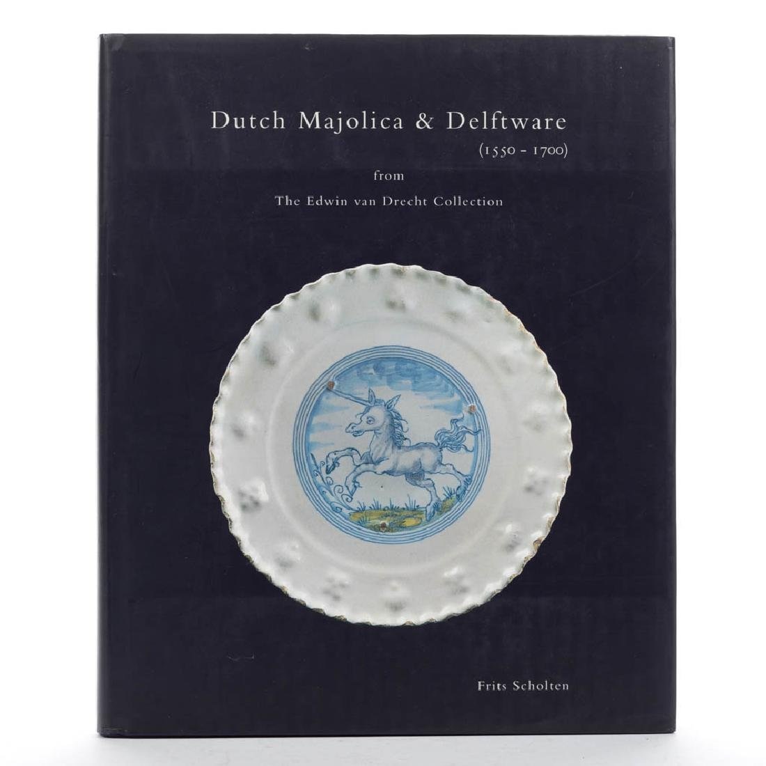 DUTCH DELFT / MAJOLICA CERAMIC VOLUME