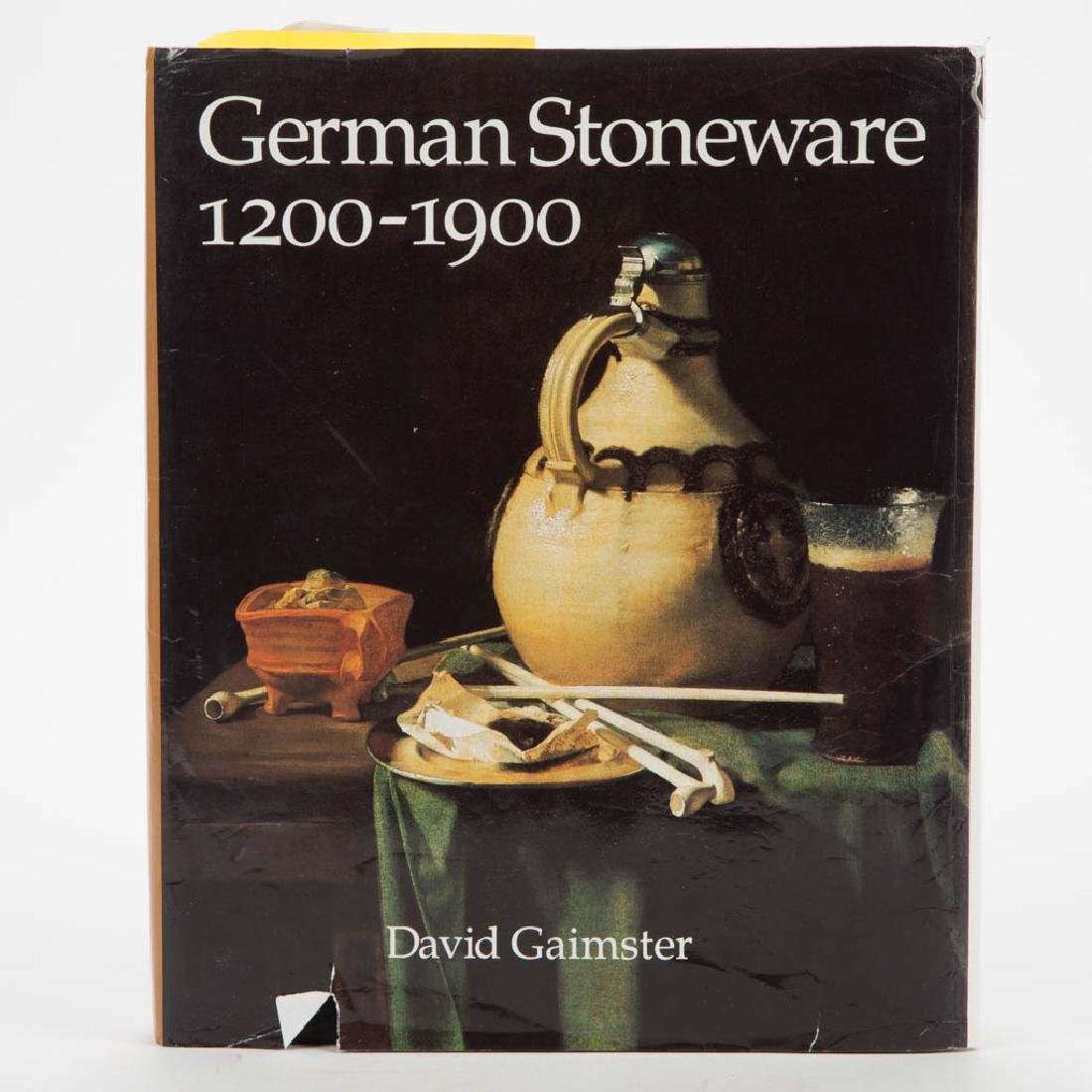 GERMAN STONEWARE GAIMSTER CERAMIC VOLUME