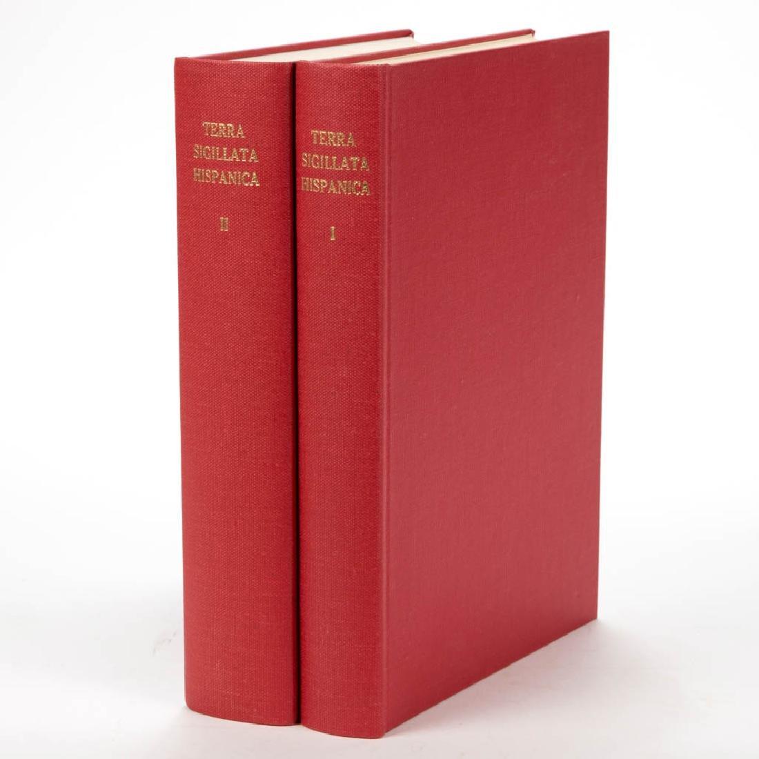 SPANISH TERRA SIGILATTA CERAMIC VOLUMES, LOT OF TWO