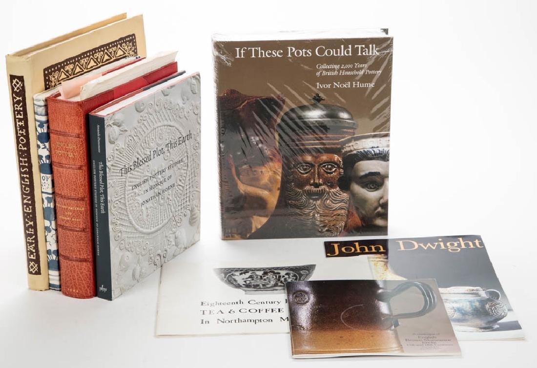 ASSORTED CERAMIC VOLUMES, LOT OF EIGHT