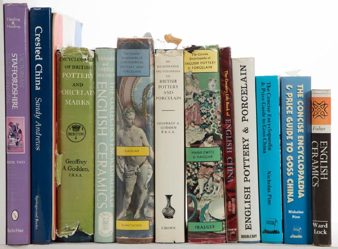 ASSORTED CERAMIC VOLUMES / RESEARCH MATERIALS, LOT OF