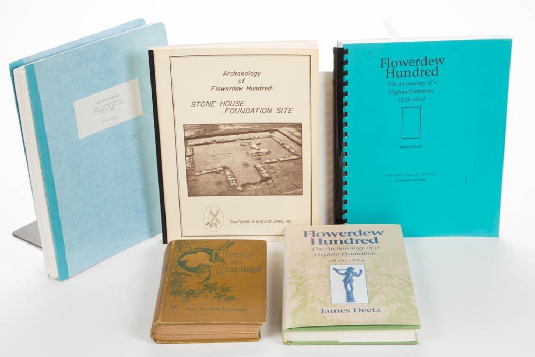 AMERICAN ARCHAEOLOGY FLOWERDEW HUNDRED VOLUMES /