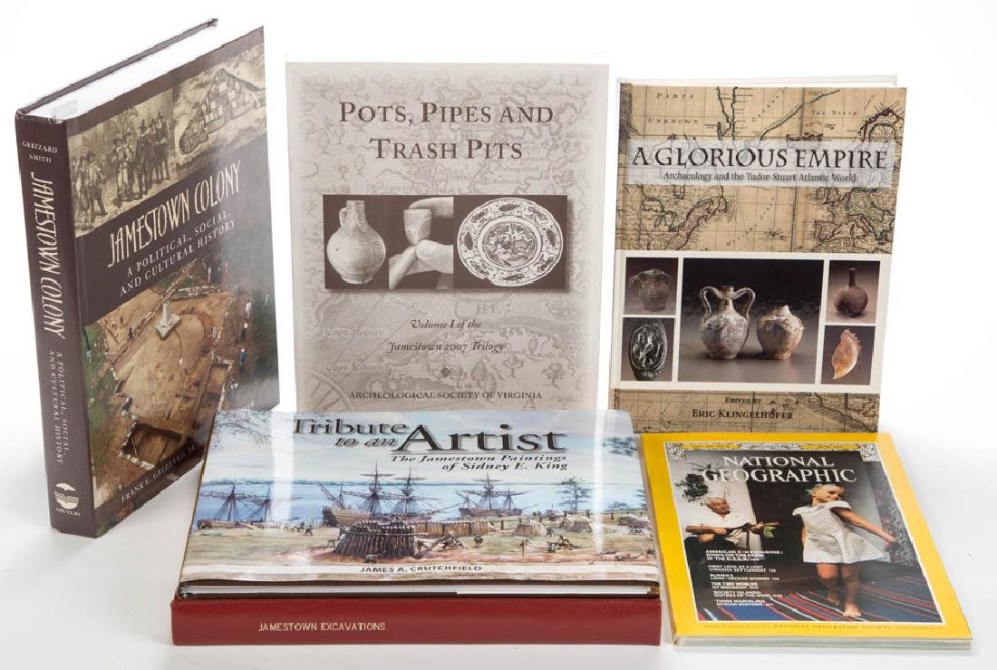 AMERICAN JAMESTOWN ARCHAEOLOGY / HISTORY VOLUMES /