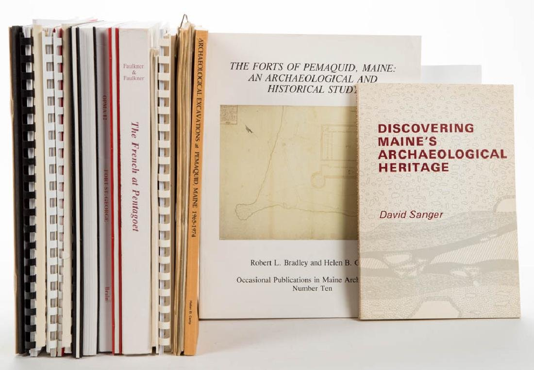 AMERICAN MAINE ARCHAEOLOGY / HISTORY VOLUMES / RESEARCH