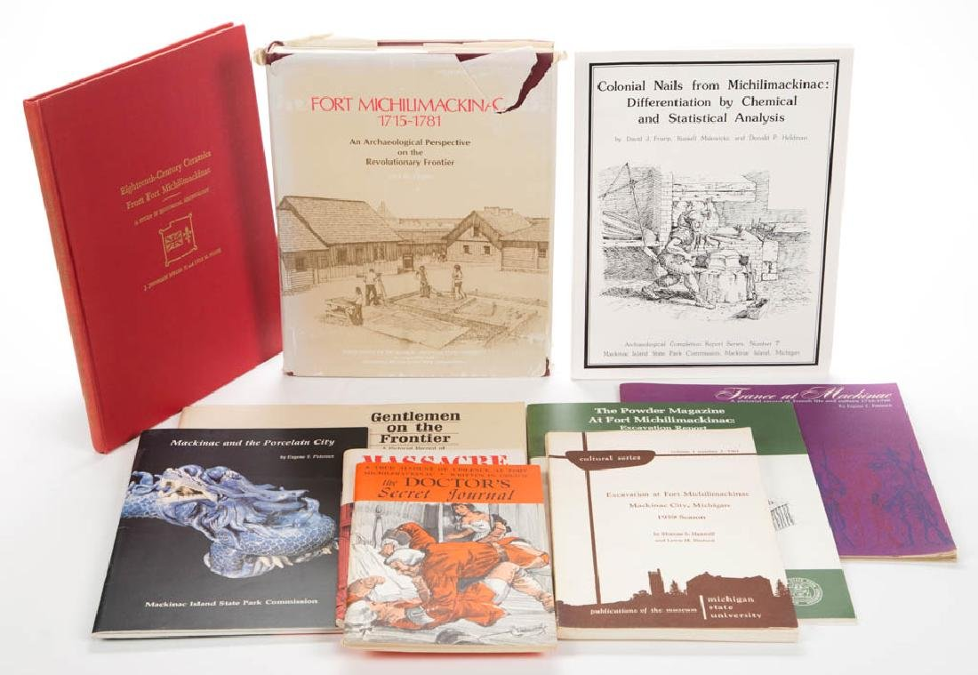 AMERICAN MICHILIMACKINAC ARCHAEOLOGY / HISTORY VOLUMES