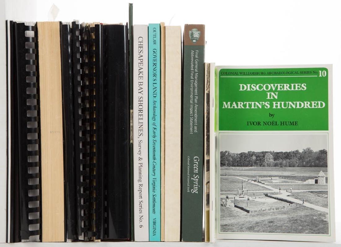 AMERICAN VIRGINIA ARCHAEOLOGY / HISTORY VOLUMES /