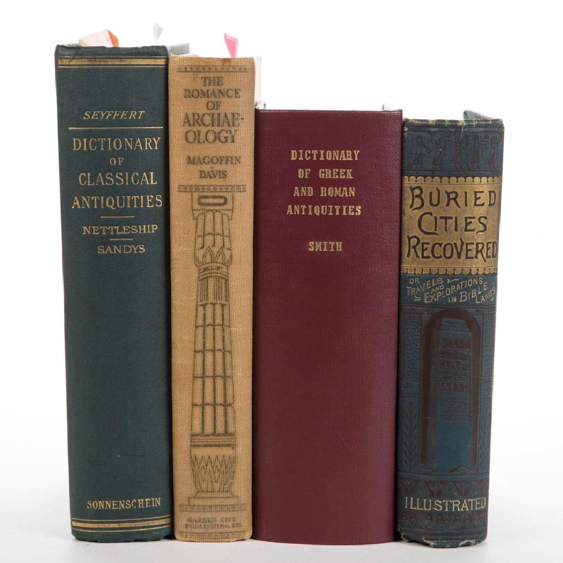 ARCHAEOLOGY / ANTIQUITIES VOLUMES, LOT OF FOUR