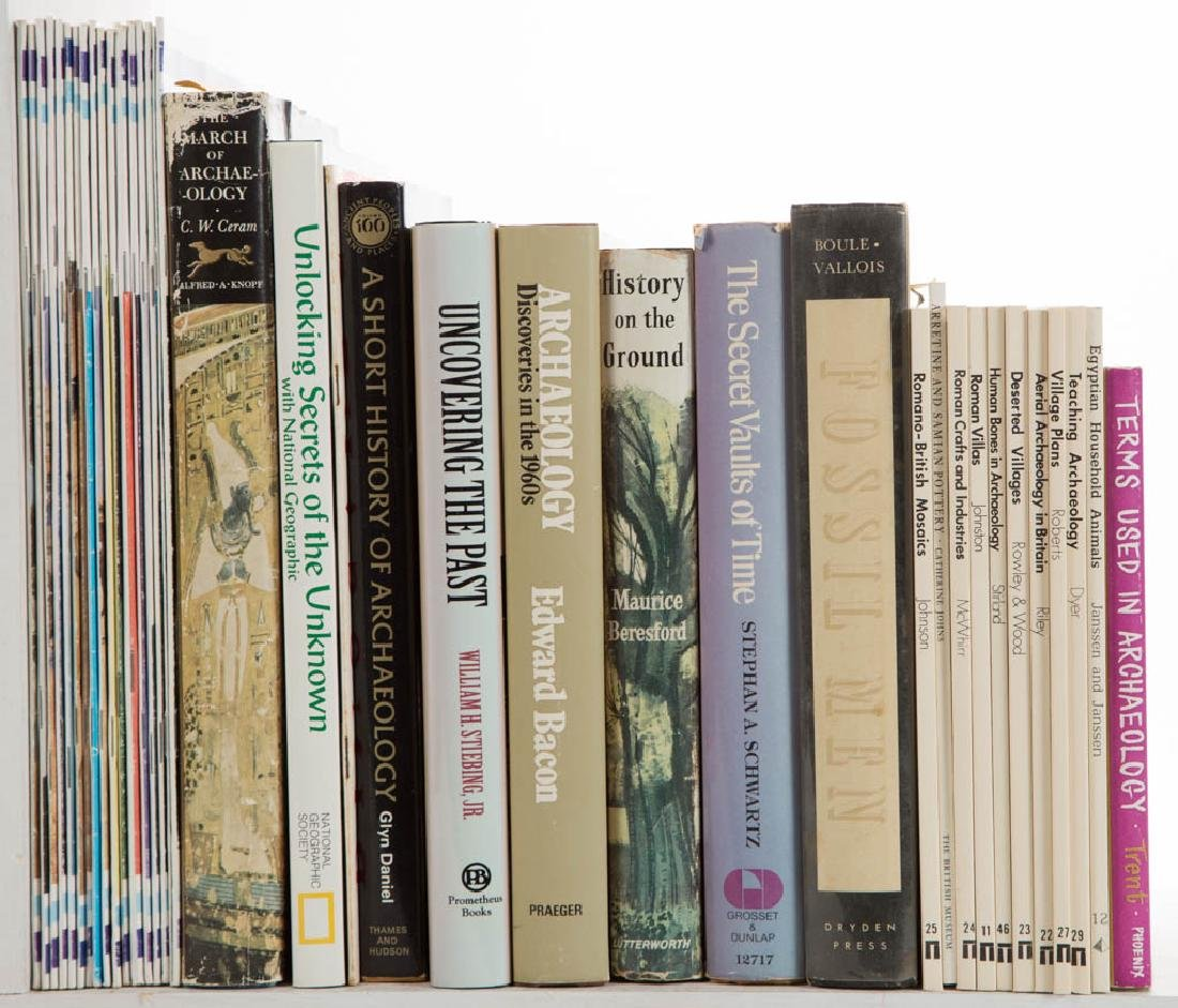 ARCHAEOLOGY AND RELATED VOLUMES / RESEARCH MATERIALS, - 2