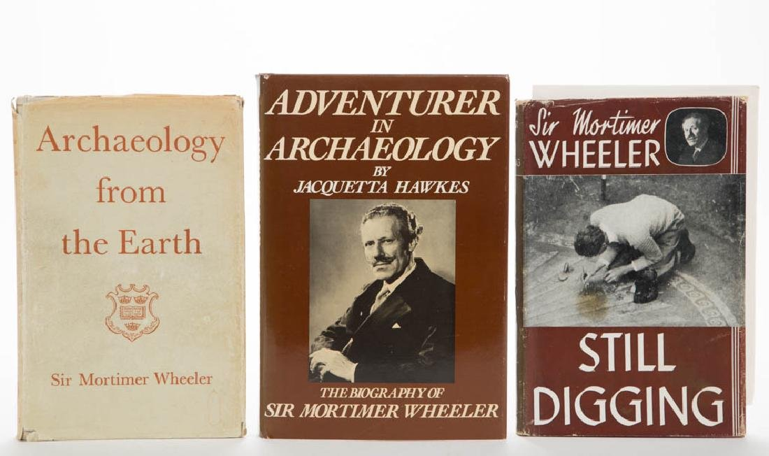ARCHAEOLOGY AND RELATED VOLUMES, LOT OF THREE