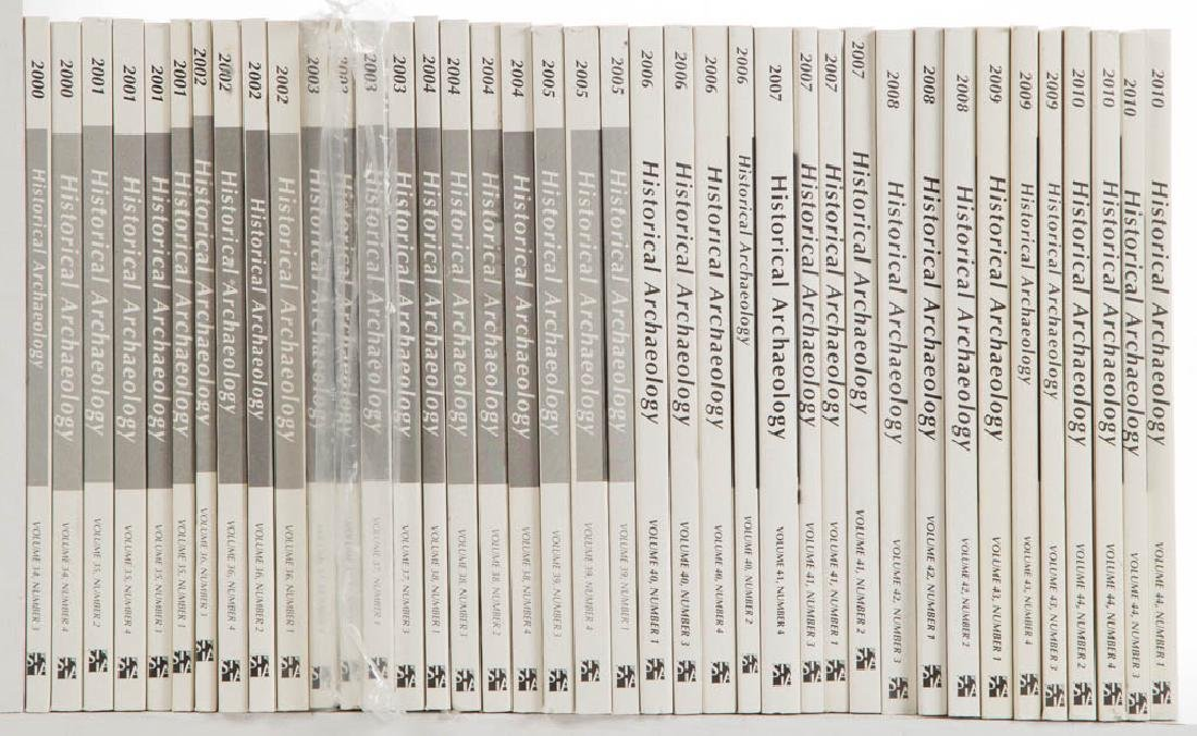 ARCHAEOLOGY JOURNAL VOLUMES, LOT OF 39