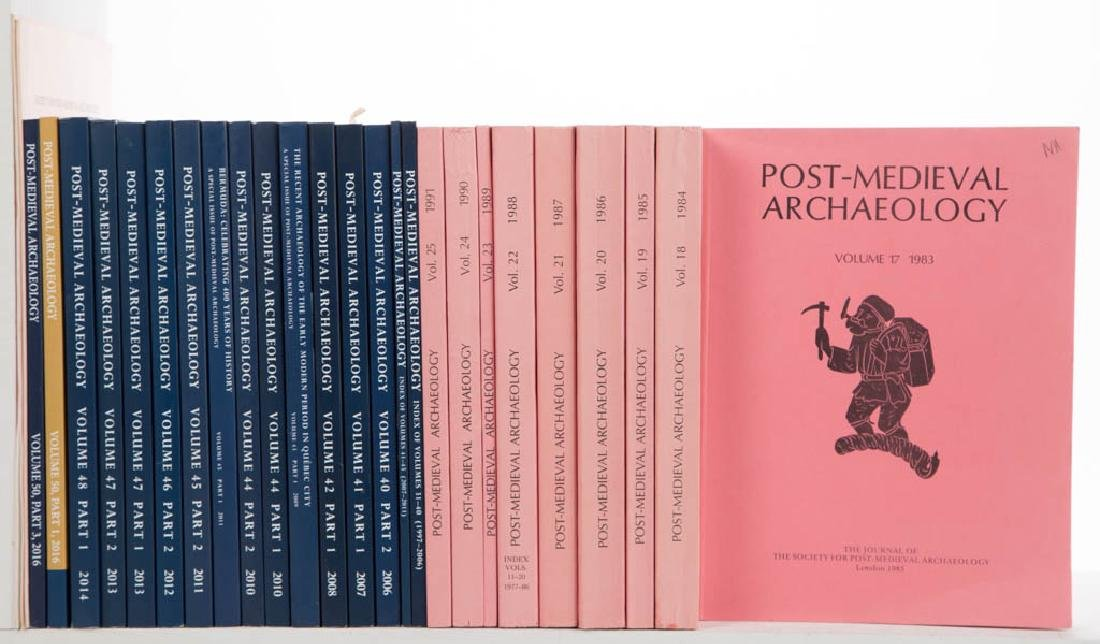 ARCHAEOLOGY JOURNALS AND RELATED VOLUMES, LOT OF 27