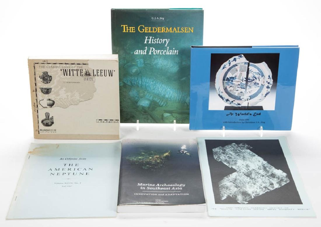ASSORTED SHIPWRECK / SALVAGE / UNDERWATER ARCHAEOLOGY