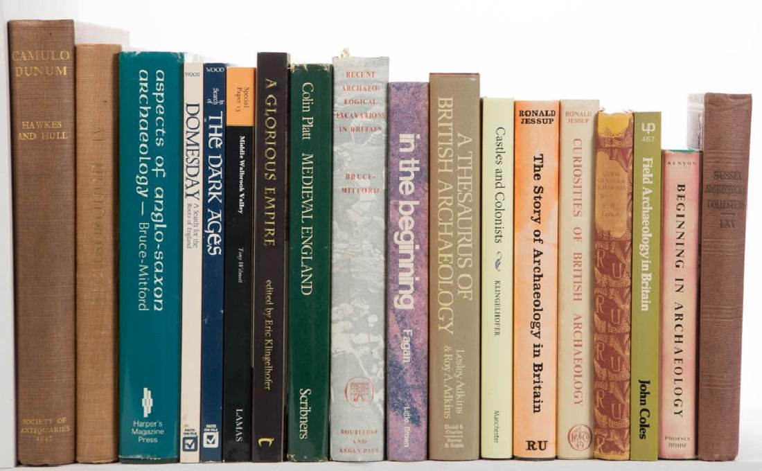BRITISH ARCHAEOLOGY AND RELATED VOLUMES, LOT OF 18