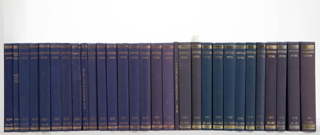 ENGLISH KENT ARCHAEOLOGY VOLUMES, LOT OF 30