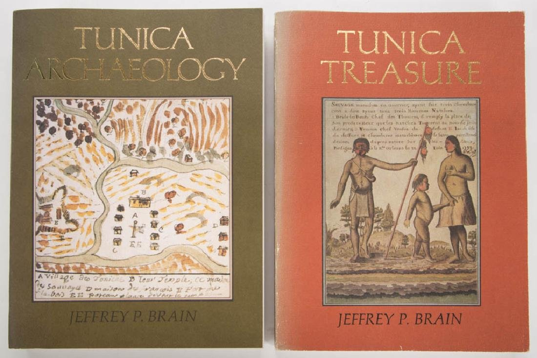 AMERICAN NATIVE AMERICAN ARCHAEOLOGY VOLUMES, LOT OF