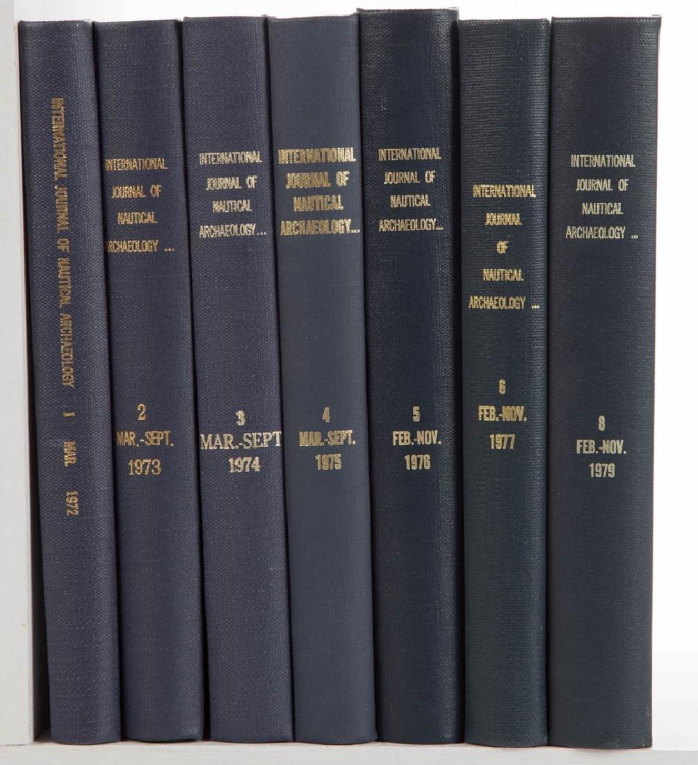 UNDERWATER / NAUTICAL / MARINE ARCHAEOLOGY VOLUMES, LOT