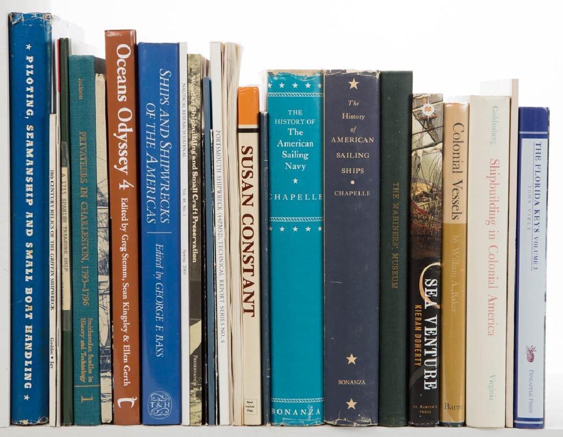 AMERICAN SHIPWRECK / SHIPBUILDING / HISTORY VOLUMES,