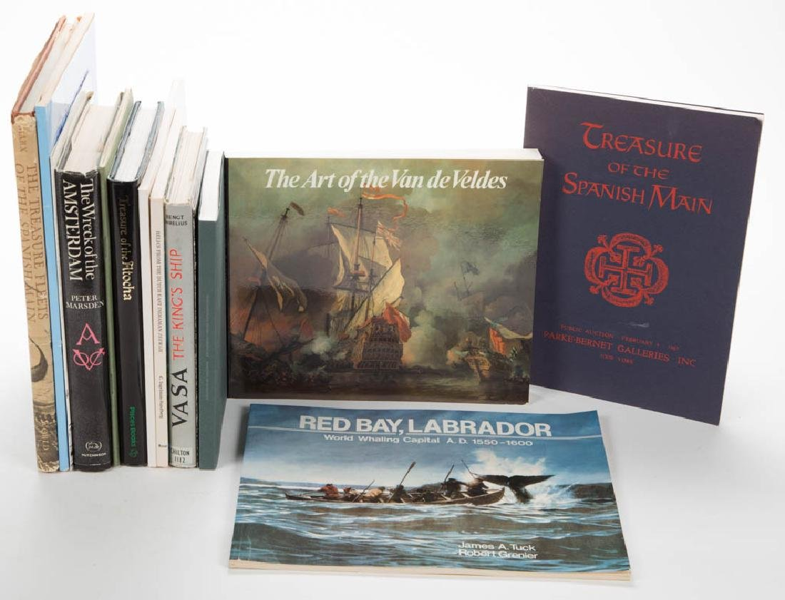 NAUTICAL HISTORY AND RELATED REFERENCE VOLUMES, LOT OF